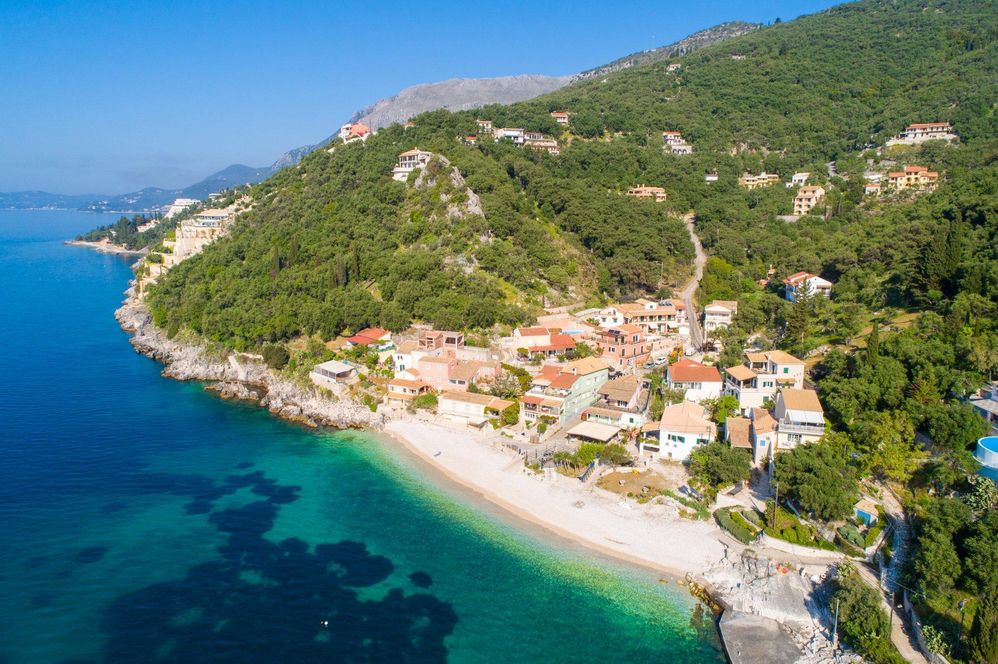 Corfu, Kaminaki